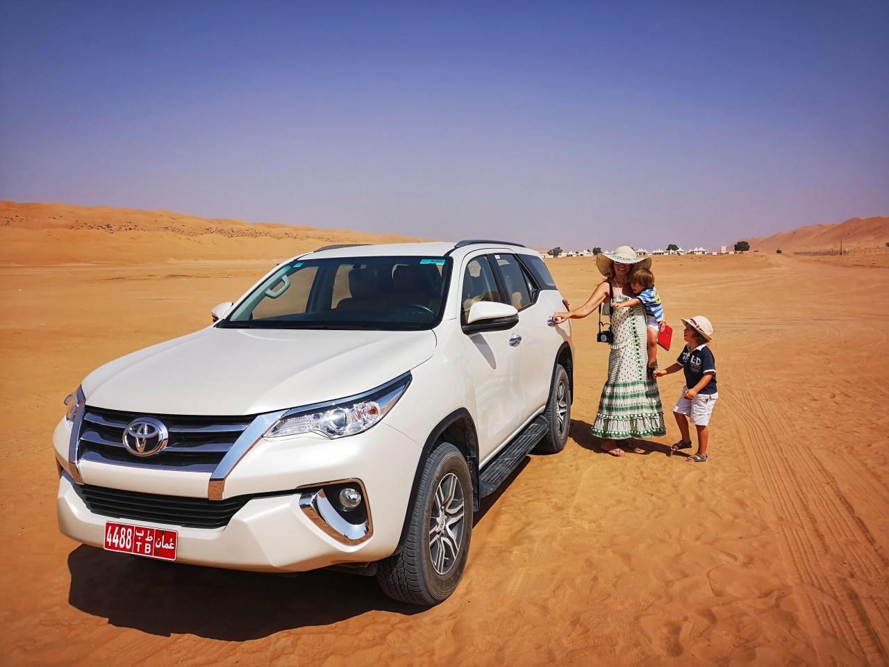 Adventure holidays Oman with kids