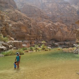 Oman in 10 days: Wadi Shab