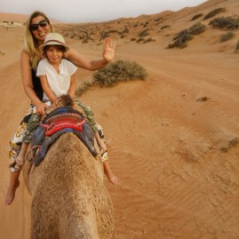 Camel ride Oman