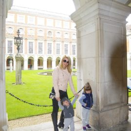 Hampton Court Palace with kids