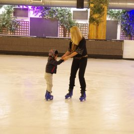 Iceskating with kids