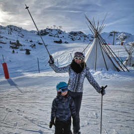 Skiing with kids - Courchevel