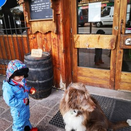 Courchevel with toddler