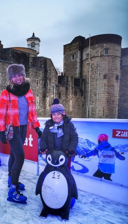 Tower of London ice rink 2019