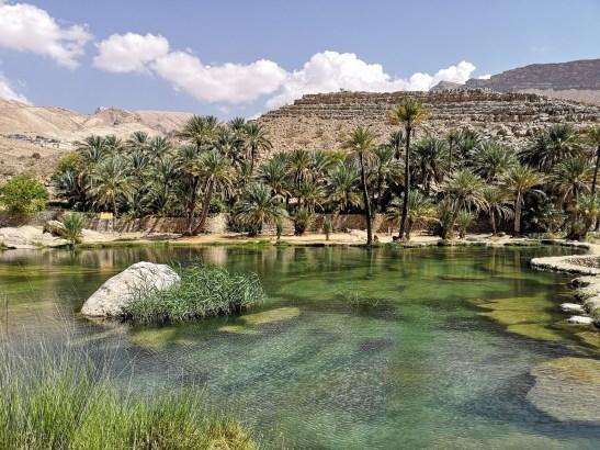 Day trip from Muscat Kempinski : Wadi Bani Khalid
