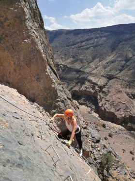 Day trip from Muscat : Via Ferrata, Al Hajar mountains