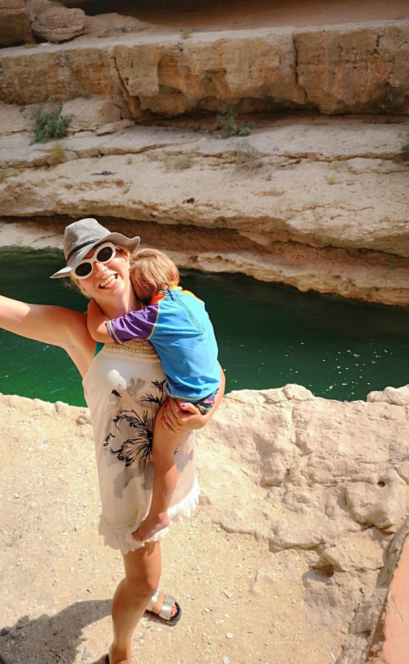 Day trip from Muscat : Wadi Shab
