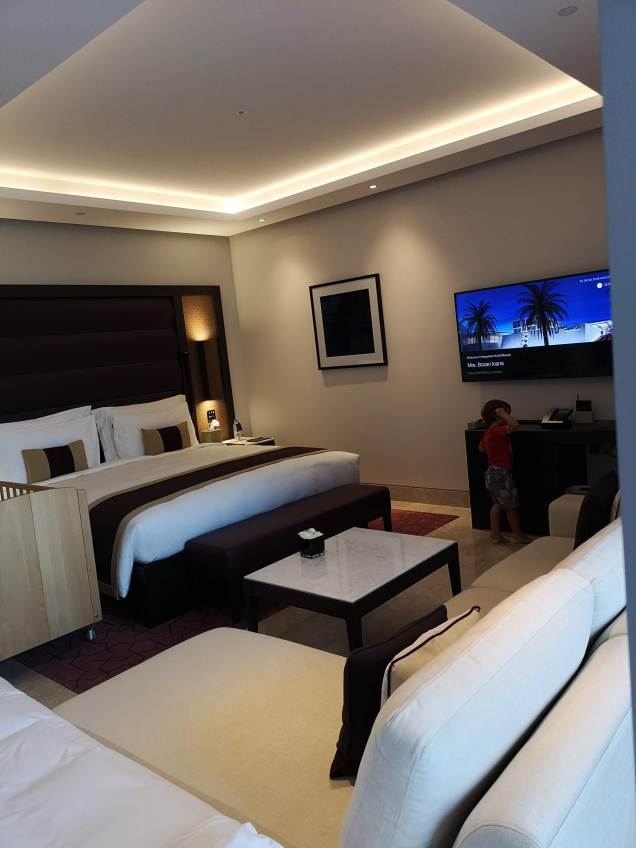 Kempinski Hotel Muscat rooms with kids