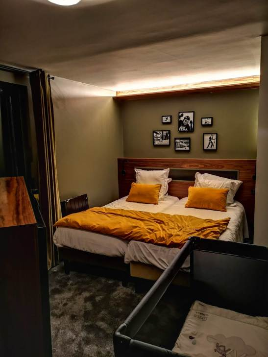 Fahrenheit 7 Courchevel sleek vintage suites