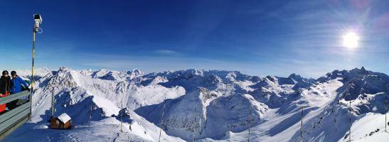 Montvallon glacier