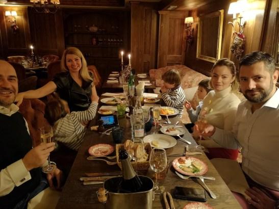 Dinner La Portetta Courchevel 1650 - Angela Hartnett