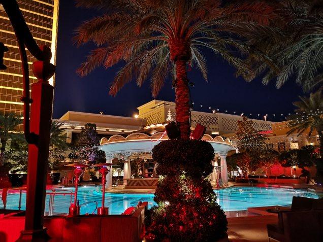 XS nightclub pool party at Wynn