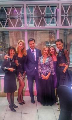 Children in need fundraising ideas : Hospice of Hope annual gala dinner Kensington and family charity walks London