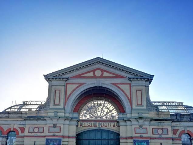 Alexandra palace East Court entrance