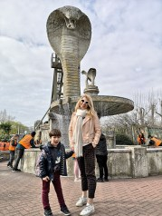 Chessington kids rides - Cobra is not for the faint hearted