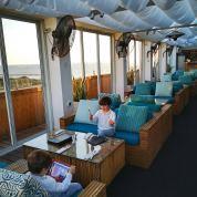Tel Aviv Alexander hotel roofterrace