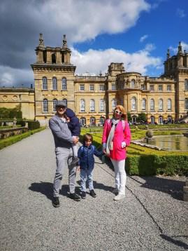 Blenheim Palace gardens