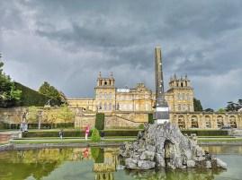Blenheim Palace formal gardens