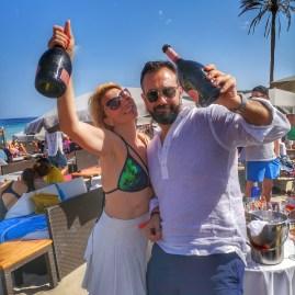 Nassau beach bar