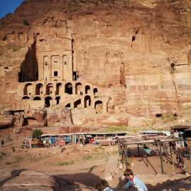 Petra the tombs