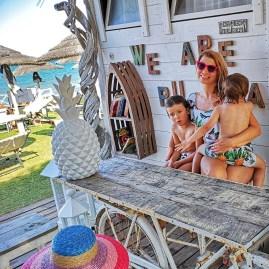Guna Beach Bar Puglia with kids