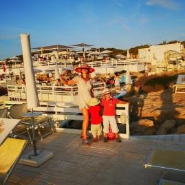 G Beach Bar Puglia with kids