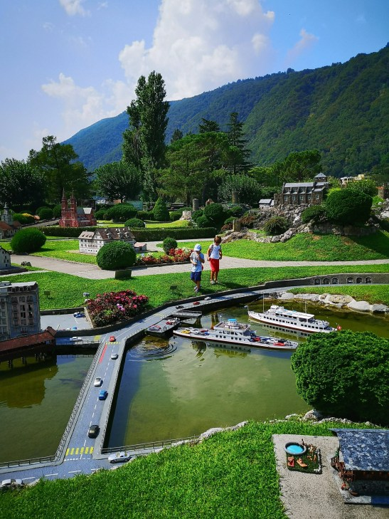 Switzerland in one day: SwissMiniatur Park Lugano - Ticino with kids