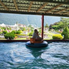 Boat ride SwissMiniatur park Lugano