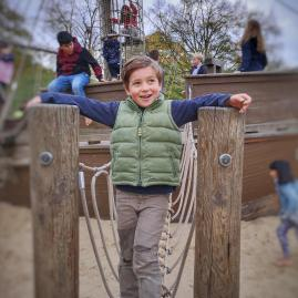 Kensington with kids - Diana memorial playground