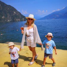 Milan to Lugano : stop in Menaggio for kids