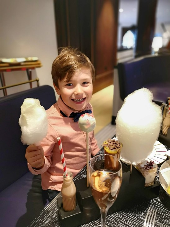Children afternoon tea London: Charlie and Chocolate factory
