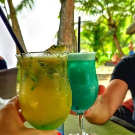 Cocktails Baie Lazare Seychelles