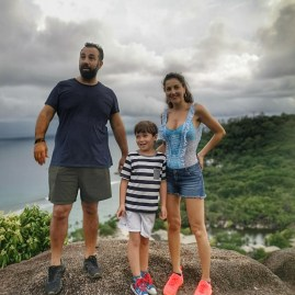 Trekking Seychelles with kids