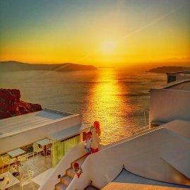 Sunset Imerovigli Santorini