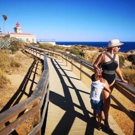 Algarve with kids: Ponta de Piedade