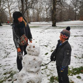 Cultured Kids - Snowman Hyde Park