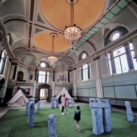 Art in the Age of Now Fulham Townhall