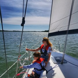Sailing with kids Chichester
