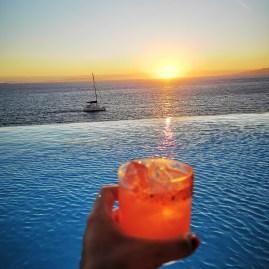 Mykonos best sunsets: Zuma @ Cavo Tagoo