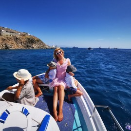 Boat rides Mykonos