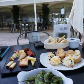 Hort Sant Patrici cheese and winetasting