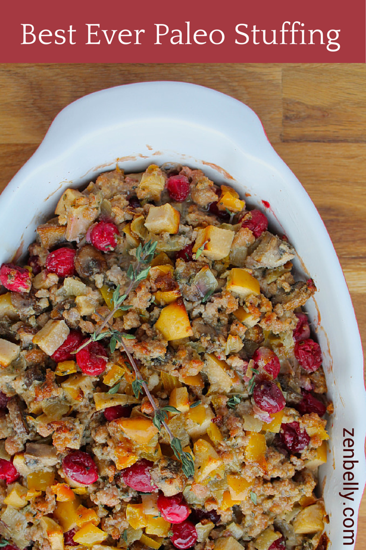 Best Ever Paleo Stuffing (Dressing)
