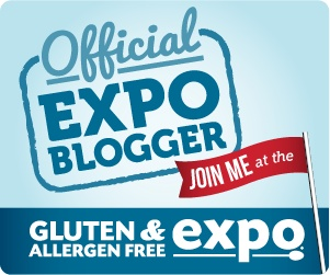 The Gluten & Allergy-Free expo in San Francisco is just 2 weeks away!