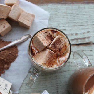 Homemade Hot Cocoa Mix & Cinnamon-Maple Marshmallows
