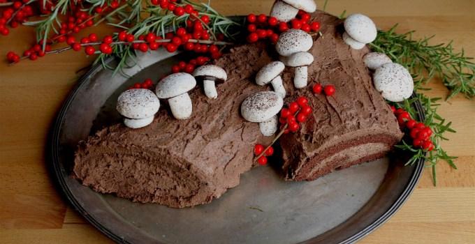 Gluten-Free Yule Log