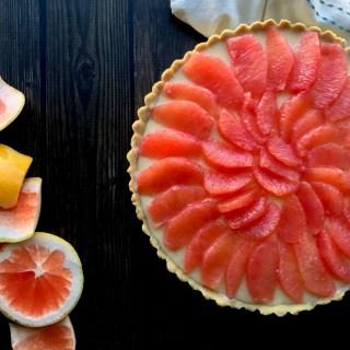 paleo grapefruit tart
