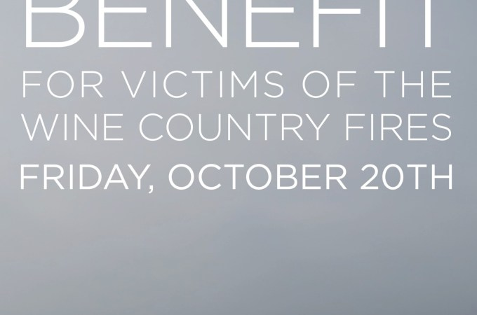 north bay wildfire benefit