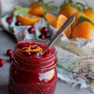 Mandarin-Ginger Cranberry Sauce
