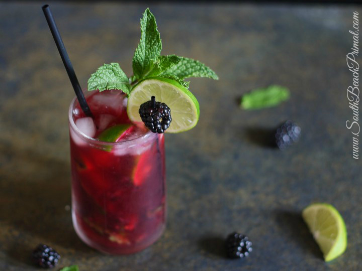 blackberry faux-jito