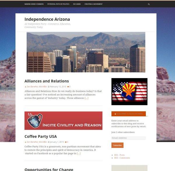 Independence Arizona